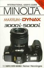 MINOLTA MAXXUM DYNAX 3000i - 5000i - International User's Guide - *NEW*