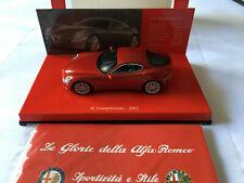ALFA ROMEO 8C COMPETIZIONE 2003 MINICHAMPS 403120523 1/43 SCALE RED METALLIC