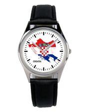 Kroatien Kroatia Souvenir Geschenk Fan Artikel Zubehör Fanartikel Uhr B-1098
