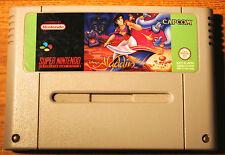 Jeu ALADDIN pour Super Nintendo SNES version PAL