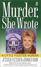 Murder She Wrote: A Little Yuletide Murder 10 by Donald Bain and Jessica Fletche