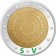 2 euro SLOVENIA   2021     MUSEO  DI CARNIOLA