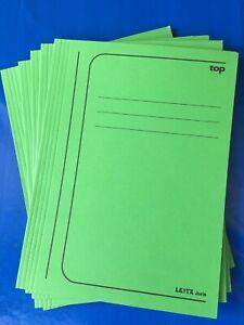 5x Leitz Jurismappe A4 Blau geeignet für 250 Blatt Sammelmappe Einlegemappe