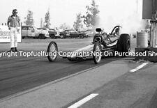 Bill Martin 400 Jr Keith Black Motor Fontana 8x12 Top Fuel NHRA Photo
