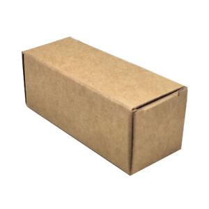 50x Brown Kraft Paper Box Perfume Essential oil Cosmetic Bottle Lipstick Pack