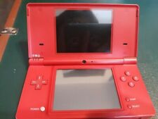 NIntendo Dsi Matte Red Used good W/Stylus and Charger see photos