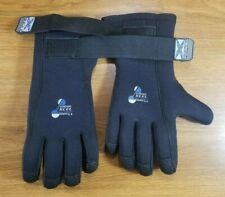 Xcel GlideSkin Dual Density Scuba Dive Gloves Neoprene 5.4mm 5mm L LG Large