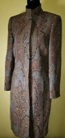 Vintage Carlisle Wool And Silk Blend Women's Coat - Size 8