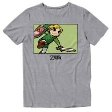 the legend of zelda link t shirt toon new authentic ocarina of time nintendo new
