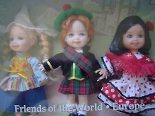 20047 Barbie Kelly Doll Friends of the World Europe 25th Anniversary -G8063