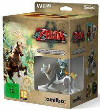 The Legend of Zelda Twilight Princess HD Limited Edition Wii U Amiibo ITA Nuovo
