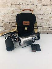 Hitachi VM-D865LA Digital8 Camcorder w/ TBC and Hi8 / Video8  3 Batteries 1 tape