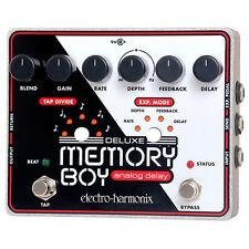 Electro-Harmonix Deluxe Memory Boy Analog Delay Guitar Pedal