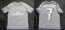 Cristiano Ronaldo #7 REAL MADRID away shirt ADIDAS 2015-2016 BOY M /12yrs/ 152cm