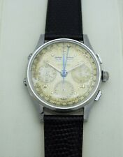 WITTNAUER VALJOUX 72C Vintage Triple-Date Calendar Chronograph FULLY SERVICED