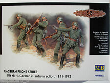 WWII Deutsche Infanterie Ostfront Kit 1 Master Box Figuren 1:35, Art.Nr. MB3522