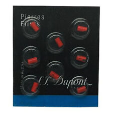 S.T. Dupont Lighter Red Flints Pack of 8 for Ligne D, Ligne 8 & Le Grand (650)