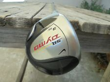 Nike SQ Dymo Quad Keel 3-15 Fairway 3 Wood Golf Club Left Hand graphite S Shaft