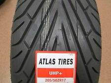 4 New 205/50ZR17 Inch Atlas UHP Tires 2055017 205 50 17 R17 50R