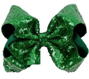 Sequence Bow, Boutique Bow, Hair Accessories, Sequins Bow, Boutique Sequence Bow