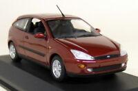Minichamps 1/43 Scale - Ford Focus MK1 Dark Red Diecast model Car