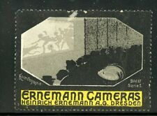 Germany Photography Poster Stamp Erinemann Cameras Dresden Theater