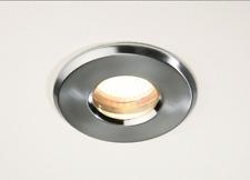 GU10 GZ10 Shower Down Lights 35w Bathroom Ceiling Halogen Recessed IP65 Chrome