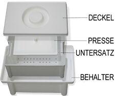 Desinfektionswanne 1 L, Instrumentenwanne 1 L, Sterilisationsbox 1 L, Steribox