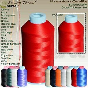 Bulked Polyester 80's Overlocking Thread 5000 Yards Bulked Textured Thread