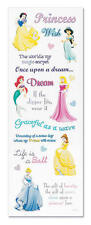DISNEY PRINCESS 3d Scrapbook Stickers and Phrases