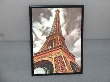3D Paris Eiffel Tower Wall Hanging Framed Picture