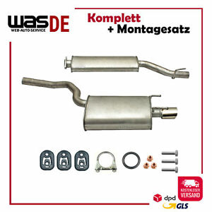 Auspuffanlage Auspuff Mercedes CLK & CLK Cabrio ( C208 A208 ) 200 230 Kompressor