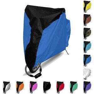 Waterproof Bike Cover Bicycle Rain Dust UV Protective Outdoor Sear Saddle New