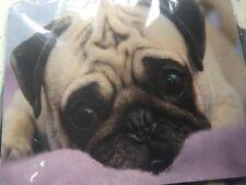 Pug Pink Blanket MousePad