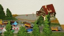 Klein Diorama mit Kanalbaustelle