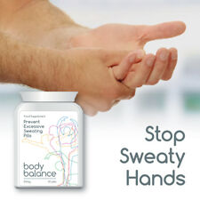 BODY BALANCE PREVENT EXCESSIVE SWEATING PILL SWEATY FEET GROIN HANDS FACE