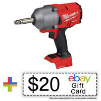 Milwaukee M18 FUEL 1/2 in. Anvil Impact Wrench 2769-20 New + $20 eBay Gift Card