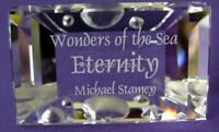 SWAROVSKI CRYSTAL PLAQUE FOR ANNUAL EDITION ETERNITY MINT BOXED RETIRED RARE