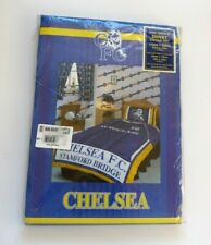Retro Official Chelsea FC Autoglass Single Duvet Cover and Pillowcase Set ~ New