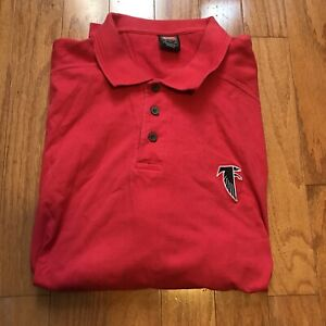 Vintage Nike Official NFL Atlanta Falcons Polo Shirt Men's XL