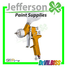 Devilbiss GTI PRO Gold with both 1.3mm & 1.4mm Tips T110 Aircap - Spray Gun