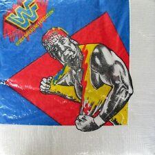 WWF WRESTLING Superstars LUNCH NAPKINS (16) ~ Birthday Party Supplies Serviettes