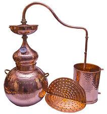 Destille Kupfer  mit Sieb mit Linse 40L