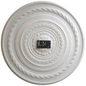 R31 Large Ceiling Rose in Fibrous Plaster - 660mm - COLLECTION ONLY