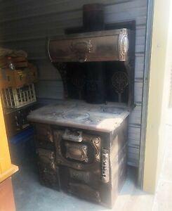 1800's Antique Cribben & Sexton, Co Wood Cook Stove No 168-16
