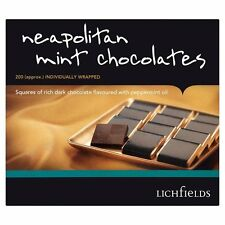 LICHFIELDS NEAPOLITAN MINT CHOCOLATES 1 x 200 INDIVIDUAL WRAPPED