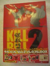 KILL BILL Vol. 2 Premium R2 DVD BOX Set Limited Japan Kuriyama Chiaki Tarantino