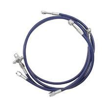 STREAMLINE FRONT BRAKE LINES LINE KIT ATV BLUE POLARIS RZR 170 09 10 11 12 13