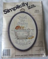 Dear Johns Forget Your Troubles In  Bubbles Counted Cross Stitch Kit # 12019