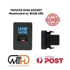 UHF RADIO RJ45 DASH SWITCH PANEL BLANK SOCKET TOYOTA HILUX LED